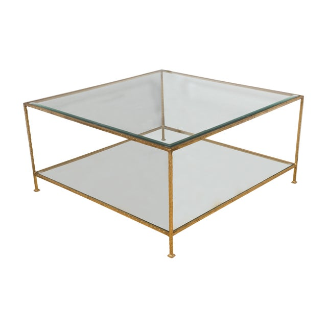 Billy Baldwin Style Cocktail Table - Image 1 of 5