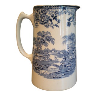 French Country Tole Pitcher