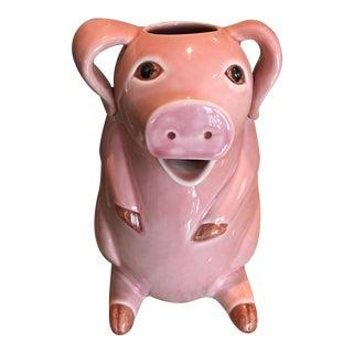 Sur La Table Pink Pig Water Juice Pitcher Carafe Jug