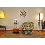 Image of Milo Baughman Style Mid Century Swivel Tub Chair