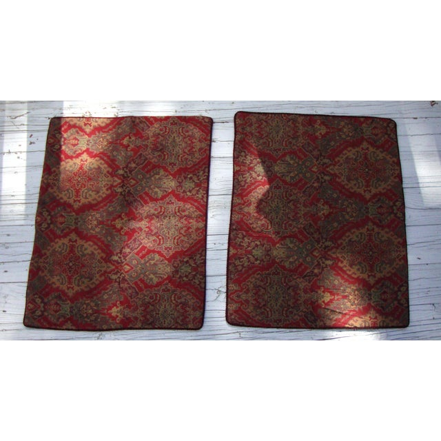Turkish Kilim Moroccan Floor Pillows - Set of 3 Chairish