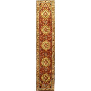 "Pasargad Hand-Knotted Serapi Rug - 2' 5"" X 11' 10"""