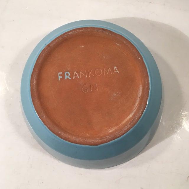 Frankoma Westwind Blue Serving Bowl - Image 5 of 6