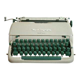 Vintage Remington Quiet Riter Typewriter