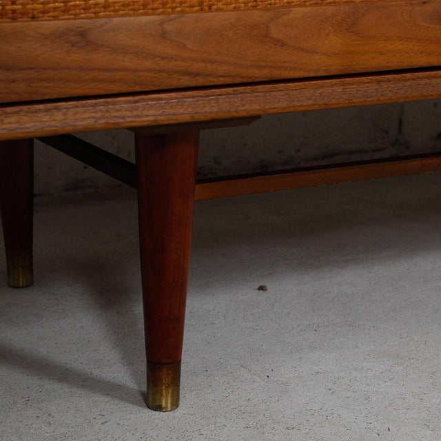 Mid-Century American Modern Walnut Sideboard & Dry Bar - Image 7 of 11