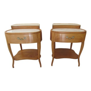Grosfeld House Style End Tables - A Pair