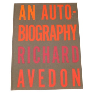 1st Edition: An Autobiography Richard Avedon