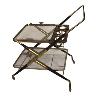 1950 Cesare Lacca Serving Bar Cart