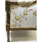 Image of Antique French Wingback Chair