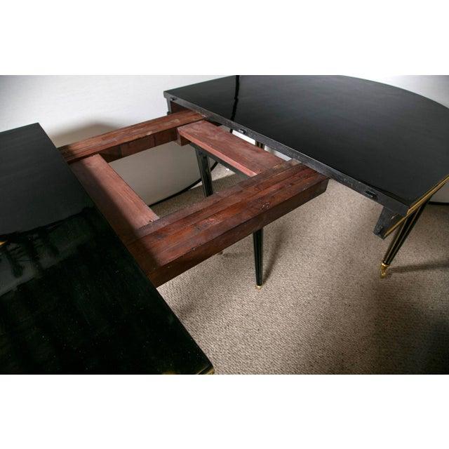 Image of Louis XVI Style Ebonized Dining Table by Jansen