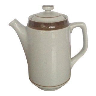 Vintage Stoneware Tea Pot