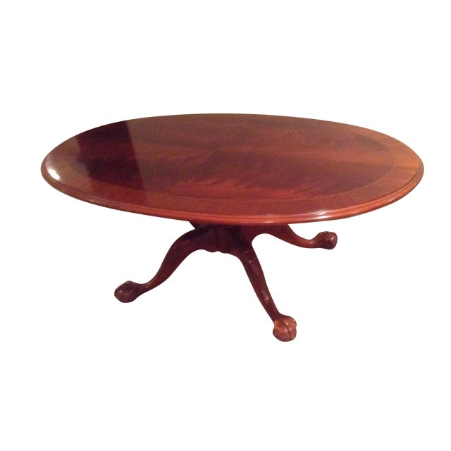 Used Ethan Allen Coffee Tables: Ethan Allen Mahogany Coffee Table