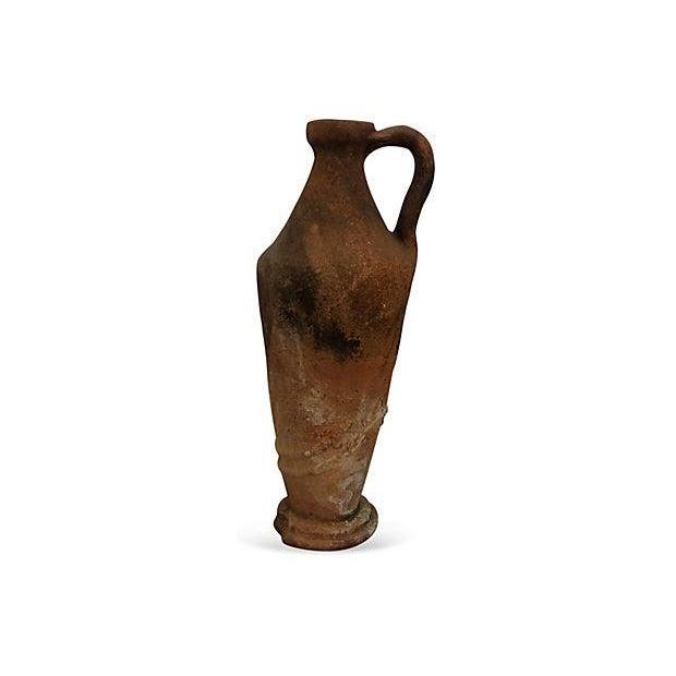 Early European Terracotta Jug - Image 2 of 5