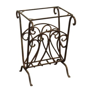 Metal Magazine Rack / Firewood Holder