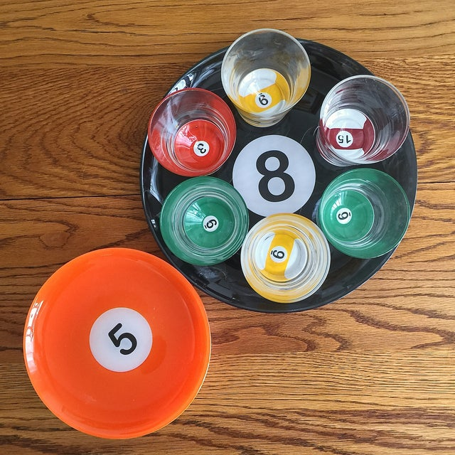Billiard Ball Snack Set - 15 Piece Set - Image 3 of 3
