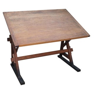 F. Weber & Co. Arts & Crafts Drafting Table