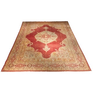 Bellwether Rugs Rare Antique Sivas Turkish Rug - 8′6″ × 11′1″