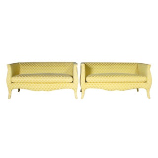 Richard Himmel Vintage Lutece Settees - A Pair