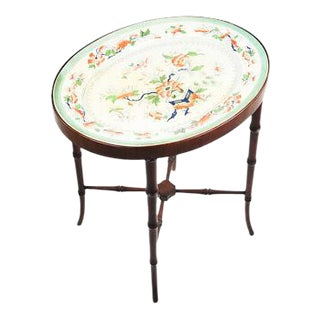 Victorian Porcelain Top Table