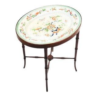 Victorian Porcelain Top Table