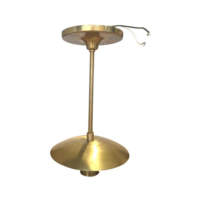 Schoolhouse Electric Luna Brass Pendant - Image 1 of 7