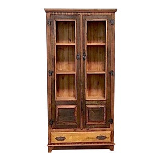 Reclaimed Wood Armoire Storage Cabinet