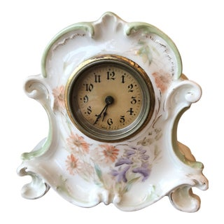 1910 Ansonia Ceramic Clock