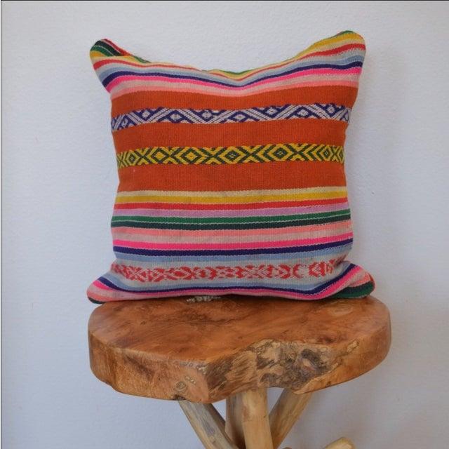Decorative Peruvian Pillow - Image 2 of 4