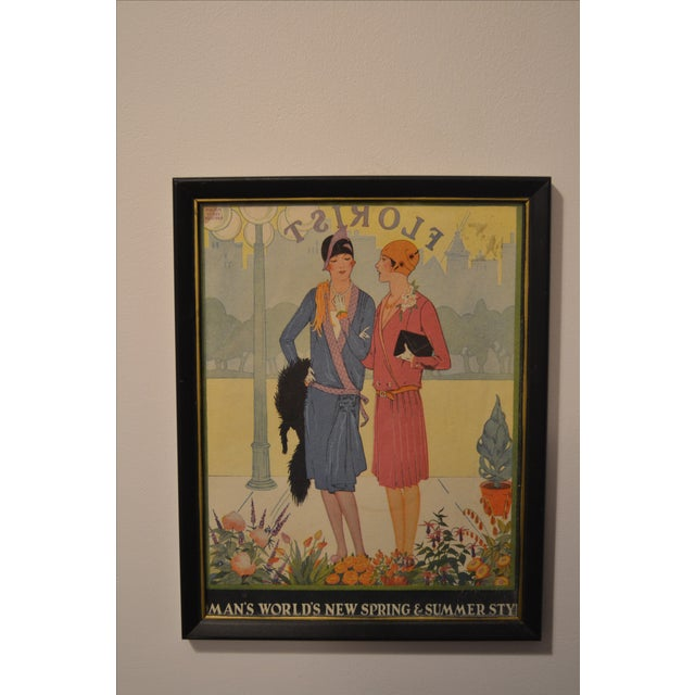 1920's Fashion Plate - Image 2 of 4