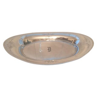 Sterling Silver Oval Tray