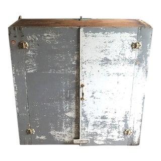 Antique Primitive Pine Cabinet