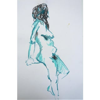 Turquoise Model Drawing