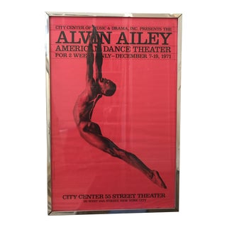 Iconic Billboard Alvin Ailey, 1971