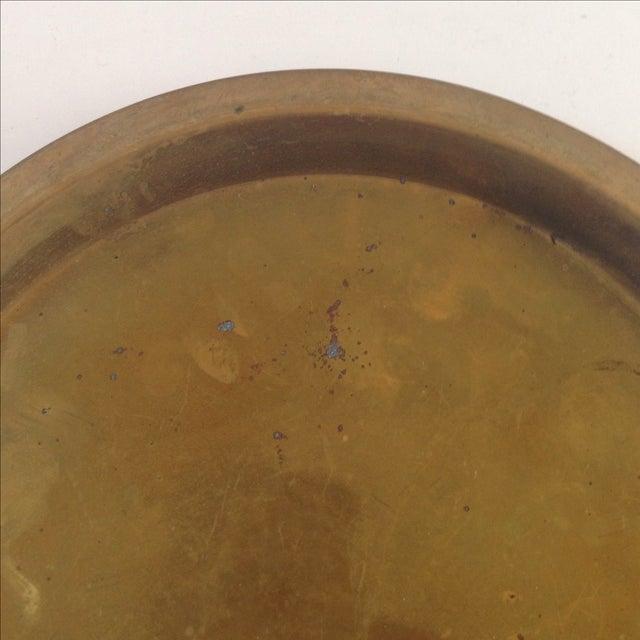 Vintage Brass Plate 70
