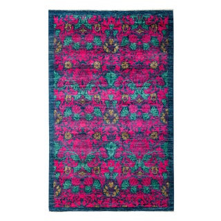 """Arts & Crafts, Hand Knotted Area Rug - 4'10"""" X 7'10"""""""