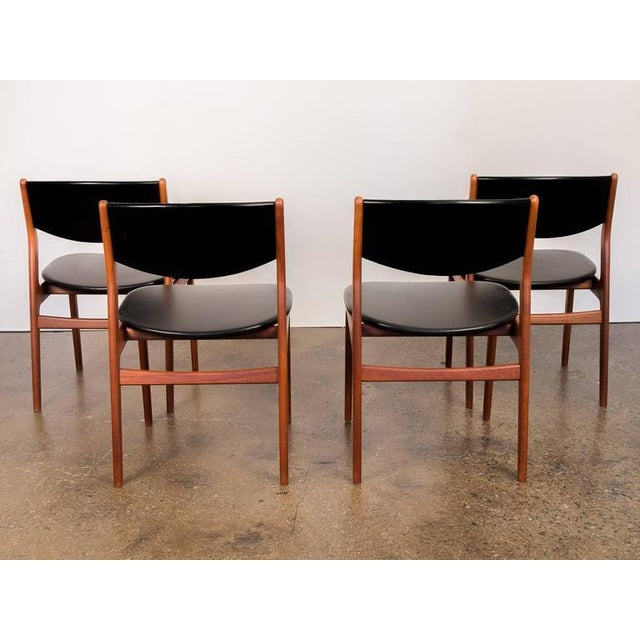 Four Scandinavian Teak Dining Chairs - Image 3 of 7