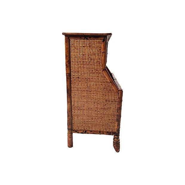 Rattan Storage Cabinet - Image 5 of 7