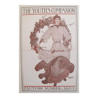 1903 American Art Nouveau Fashion Cover, The Youth's Companion