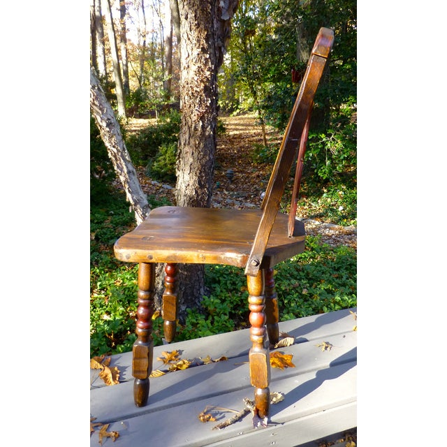 Hand Painted Mason Monterey A-Frame Chair - Image 5 of 7