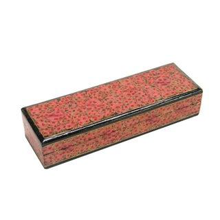 Rouge Kashmiri Pencil Box