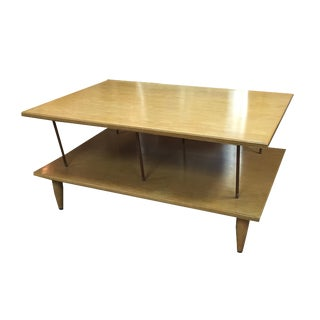Mid-Century Two Tier Coffee Table