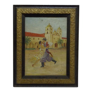"""Mexican Dancing"" Painting on Canvas"