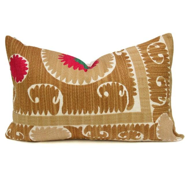 Vintage Suzani Lehar Pillow - Image 1 of 2