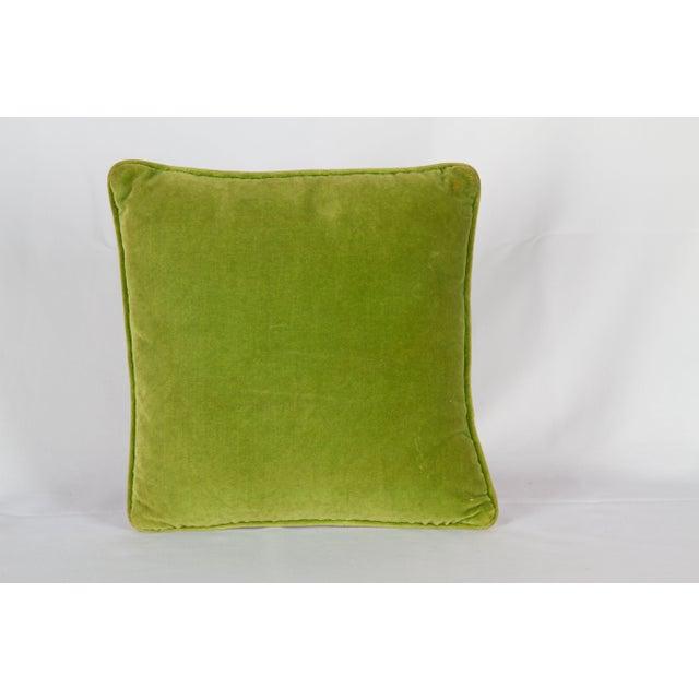 Needlepoint Trellis Throw Pillow - Image 2 of 4
