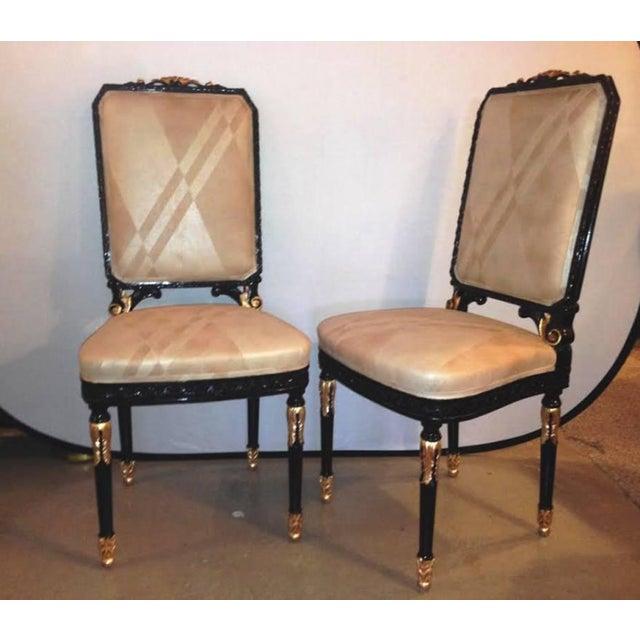 Maison Jansen Louis XVI Dining Chairs Set Of 10 Chairish