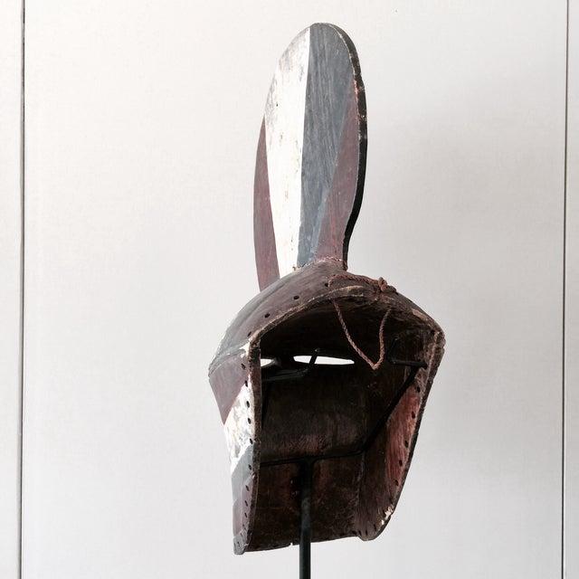 """Image of Songeye Kiwebe """"Poilce"""" Mask II"""