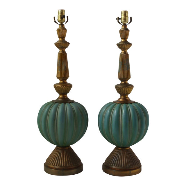 Vintage Italian Table Lamps - A Pair - Image 1 of 9