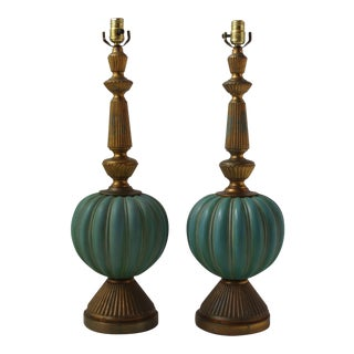 Vintage Italian Table Lamps - A Pair