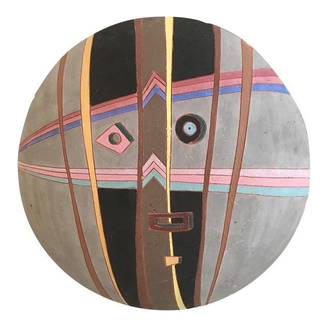 Louis Mendez Studio Pottery Wall Mask - Image 1 of 5