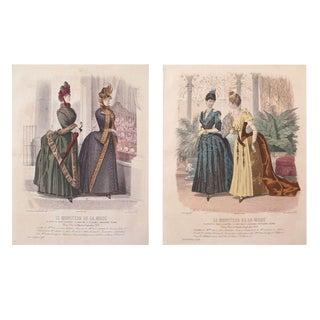 1885 Parisian Victorian Ladies Fashion Plates II